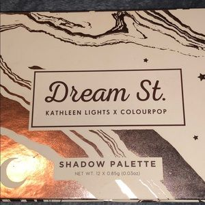 NEW Colourpop dream street eyeshadow palette
